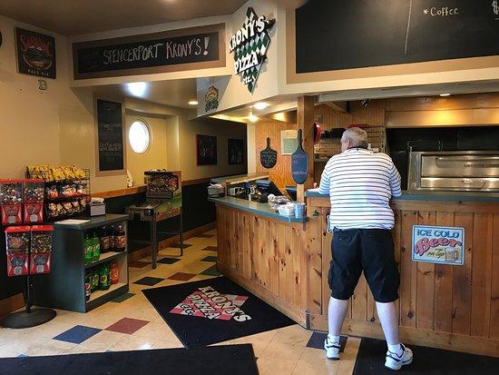 Spencerport, Estado de Nueva York: Krony's Pizza Etc