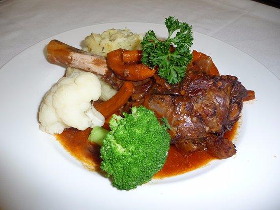 Barossa Motor Lodge: hearty meals