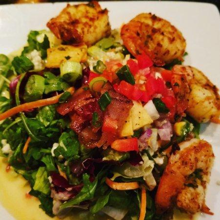Herndon, VA: Cobb salad with grilled shrimp
