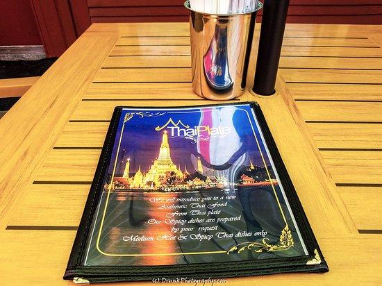Teton Thai Plate: menu
