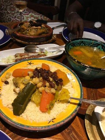Le Marrakech: our order