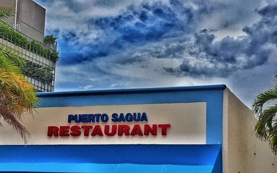 Puerto Sagua Cuban Restaurant At 700 Collins Avenue Miami Beach