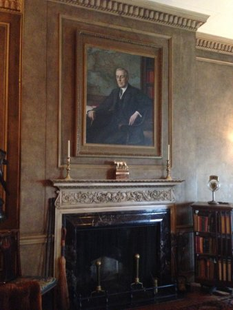The President Woodrow Wilson House: The President's portrait