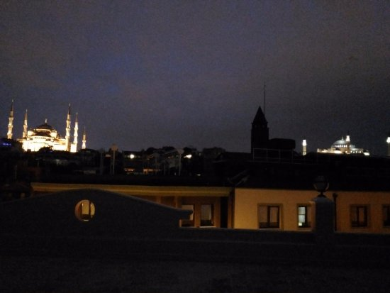 Best Western Citadel Hotel: panorama dal roof top