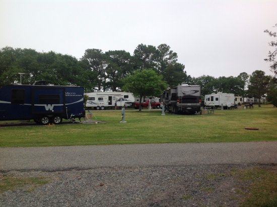 Monroe, VA: View of the campground from the camp store.