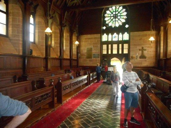 St. Barnabas Chapel: great windows