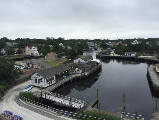 Tuckerton, NJ: Various things to see or get at the Seaport.