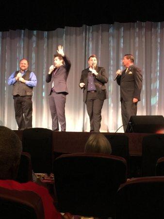 Biblical Times Dinner Theater: Gospel quartet