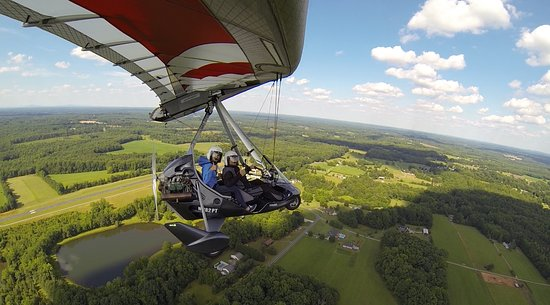 Advance, NC: Great weather for Intro Flight Lesson.