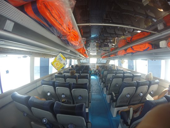 Inside The Boat Picture Of Freebird Express Amed Tripadvisor