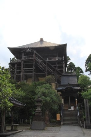 Chonan-machi, Japan: 笠森観音堂