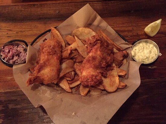 The Velo Fellow: Best place for Fish & Chips on the planet!