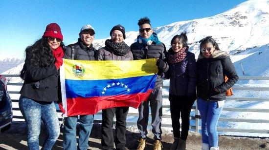 Сантьяго, Чили: Nuestros aventureros !
