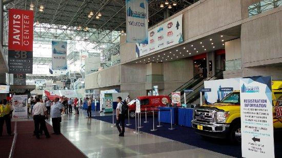 Jacob Javits Convention Center : Spacious