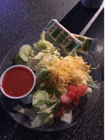 Galesburg, إلينوي: side salad