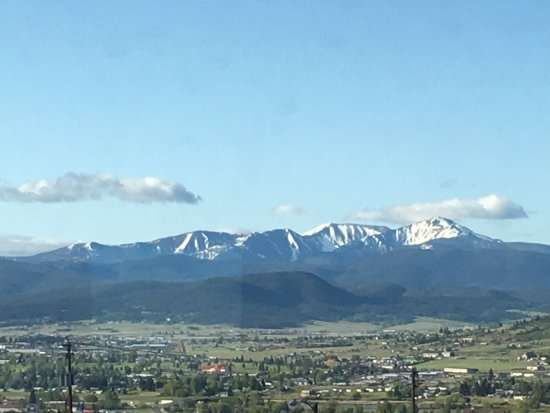 Butte, Montana: View from the Kelly, one of the 2 larger suites up front