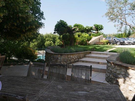 Malataverne, France: Mas_Fa_Sua - Terrace
