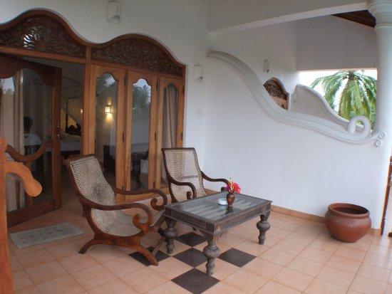 Panchi Villa: Wunderbar großer Balkon