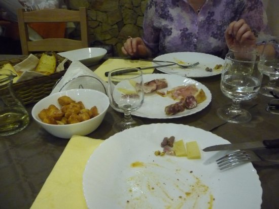 Trappitello, Italy: antipasto
