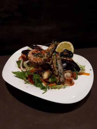 Xewkija, Malta: Insalata di pesce misto