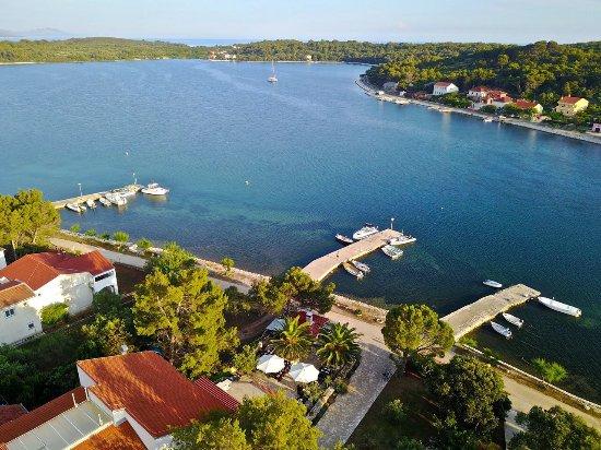 Остров Дуги, Хорватия: View from the sky