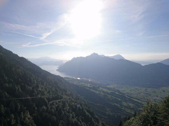 Stoos, Switzerland: while hiking down again