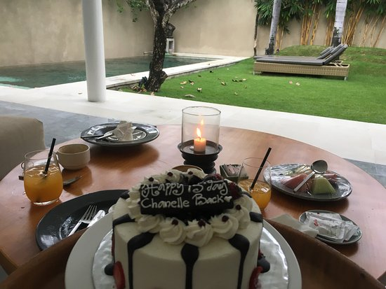 Room Service And Birthday Cake From Resort Picture Of Uma Sapna