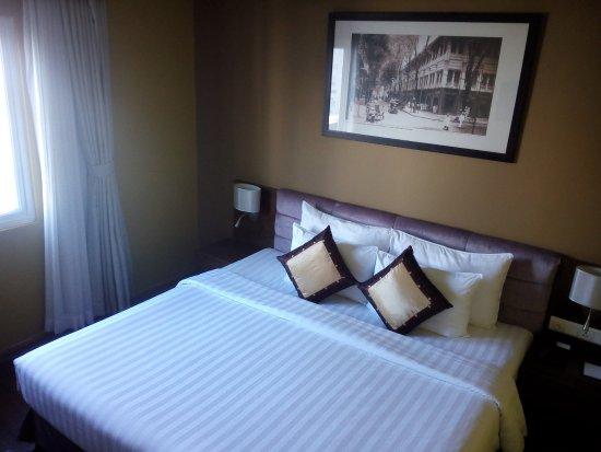 Grand Silverland Hotel & SPA: Sleeping area