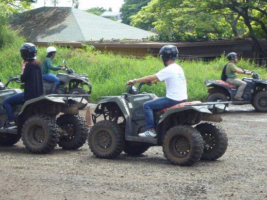 Kaneohe, Hawái: 四輪バギー(ATV)