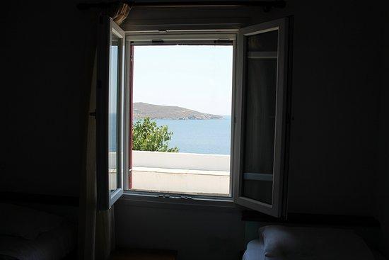 Agios Romanos, Yunani: Θέα από το δωμάτιο