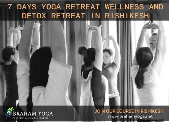 Ham Yoga Ayurveda And Natural Healing 7 Days Yoga Retreat Program In Rishikesh India