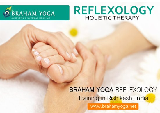 Reflexology Courses in Rishikesh India - Picture of Braham