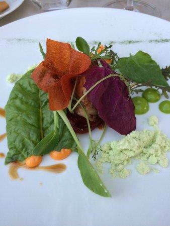 Tigliole, อิตาลี: coniglio con peperoni e vegetali