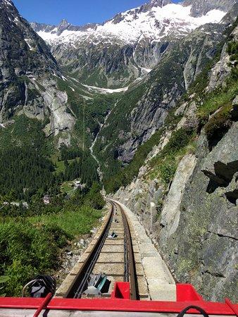 Innertkirchen, Ελβετία: Gelnerbahnfahrt ca. Mitte