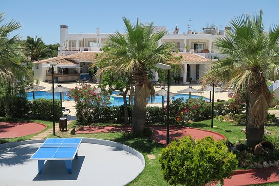 Ona Village Cala D'Or: View of pool area from balcony