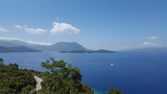 Spartochori, กรีซ: The most amazing view from rooms and pool area!