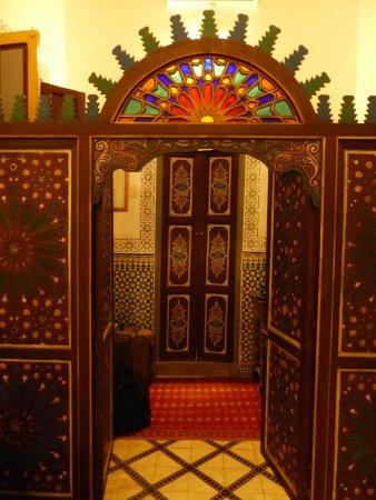 Ryad El Borj: Eingang zum Bad