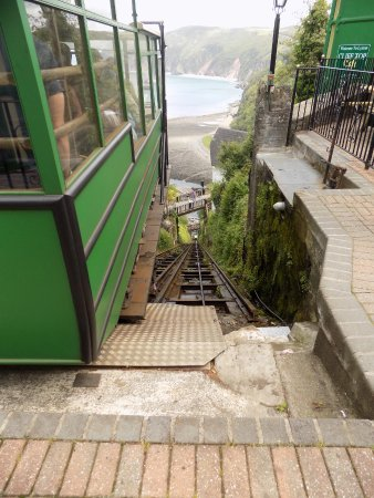 Lynmouth, UK: View from the top