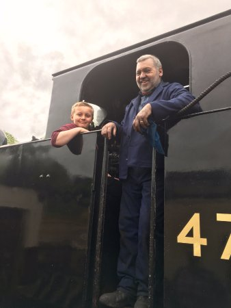 Wirksworth, UK: I want to be an Engine driver when I grow up!