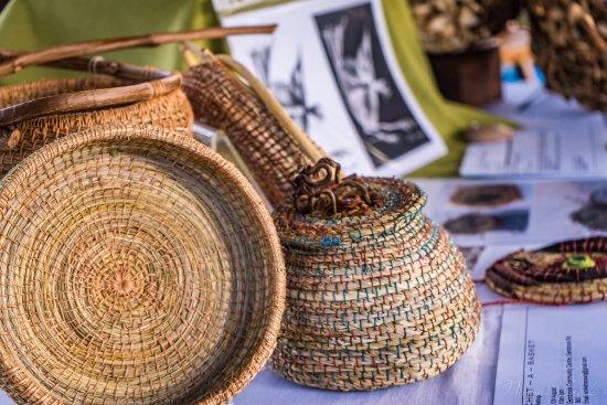 Emerald, أستراليا: Beautiful basket weaving