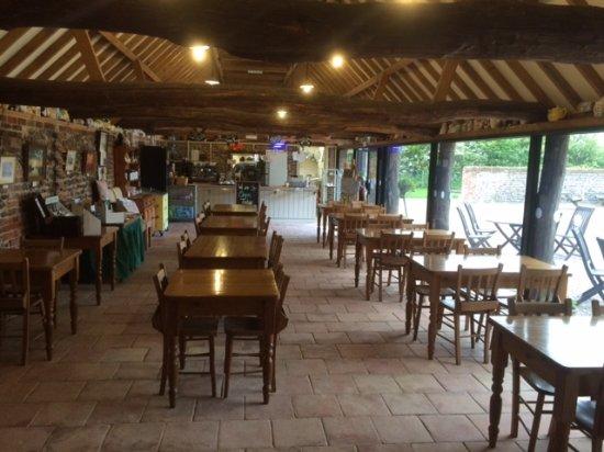 Waxham Barn cafe, Sea Palling, Norfolk