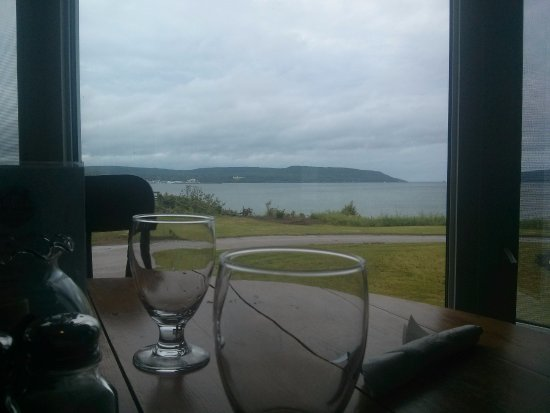 Smith's Cove, Kanada: View from our table