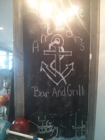 Smith's Cove, Kanada: Chalkboard