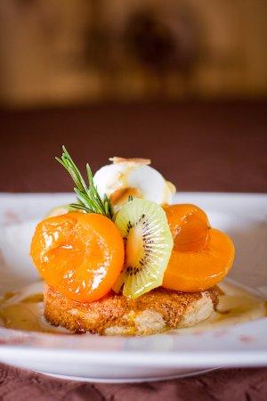 Areches, Frankrig: Tarte aux abricots