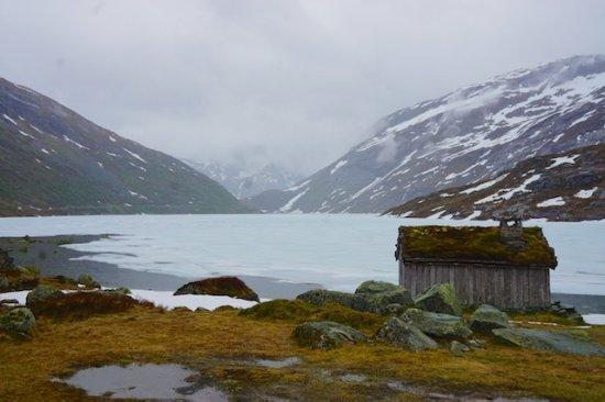 Gaular Municipality, Norway: Lakes and sheds