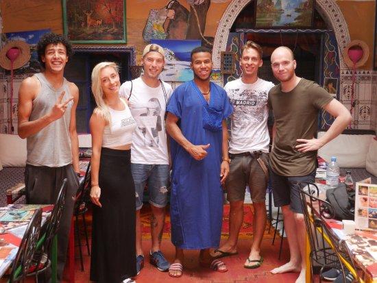 Hostel Waka Waka, Marrakech: With the best hosts ever!