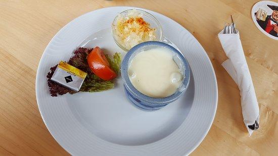 Grasellenbach, Tyskland: Der Kochkäse war sehr lecker ...