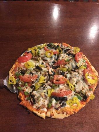 Jeffersonville, IN: Vegetarian pizza