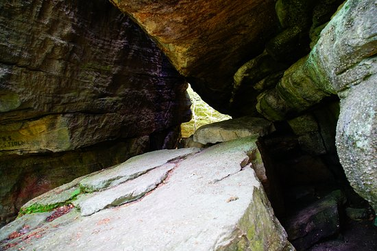 Olean, NY: Amazing rock formations!
