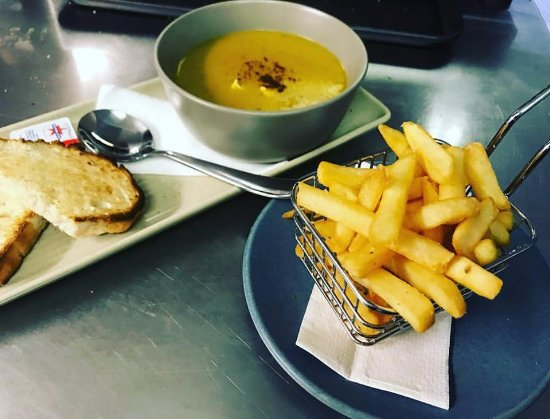 Perisher Valley, Australia: healthy vegetarian soup is packed full of protein thanks to the lentils and full of warming spic